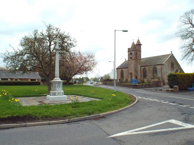 War memorial, Gretna Green