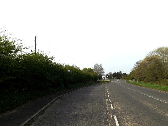 B1121 Main Road & Dorleys Corner Bus Stop