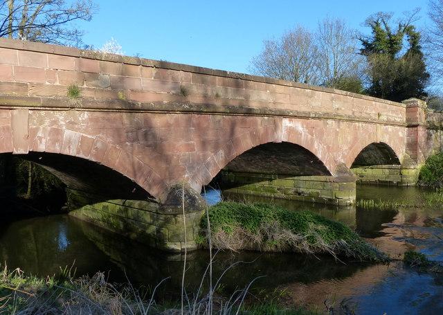 Cloud Bridge crossing the River Avon