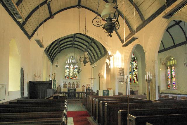 Interior Warkleigh Church