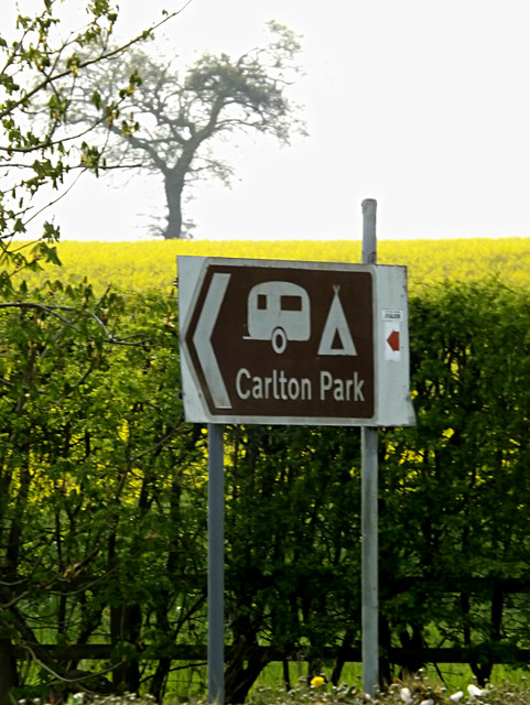 Roadsign on the A12 Main Road