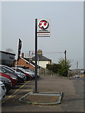 TM3876 : Vauxhall sign at London Road Garage by Adrian Cable