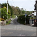 SN6214 : Unnamed access lane to a farm,  Llandybie by Jaggery