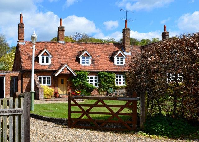 Village house, Exlade Street, Oxfordshire