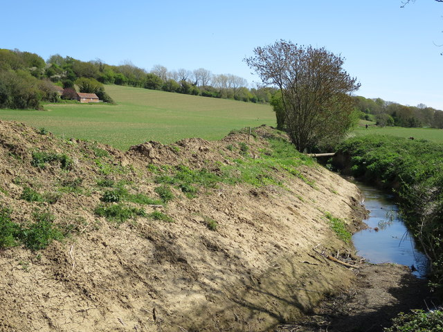 Ditch by 1066 Country Walk
