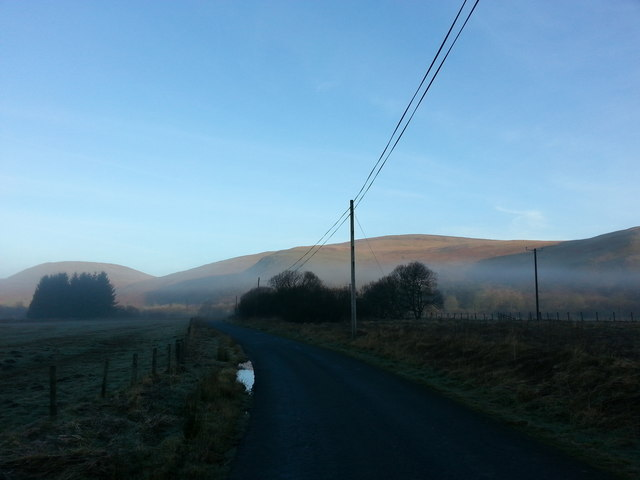 Misty Morning in the Ettrick Valley