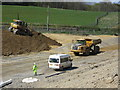 TQ7410 : Combe Valley Way construction by Oast House Archive