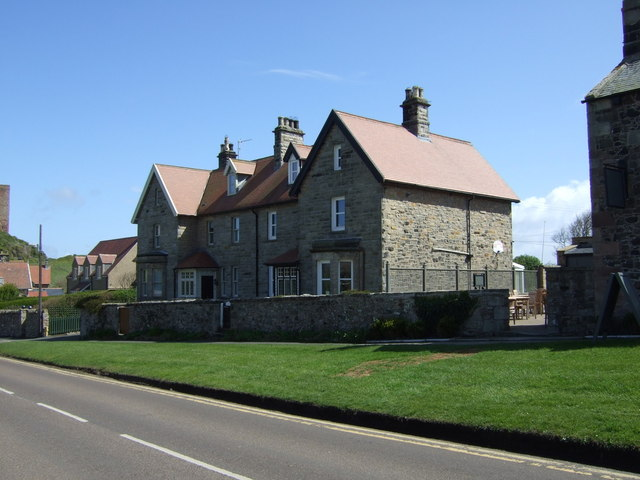 Houses on Front Street, Bamburgh