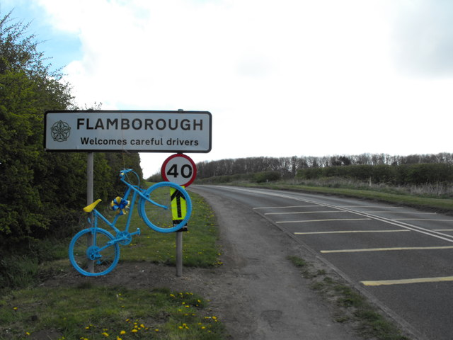 Entering Flamborough