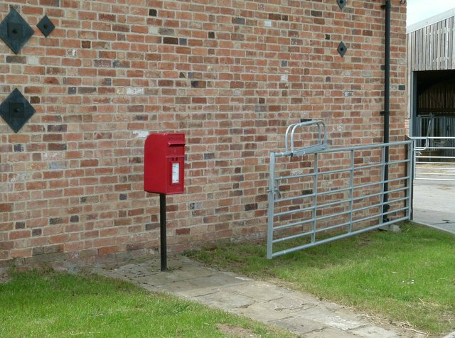 Shoby postbox ref LE14 69
