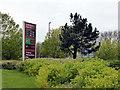 TQ6001 : Sainsbury's sign, Cross Levels Way, Hampden Park by PAUL FARMER