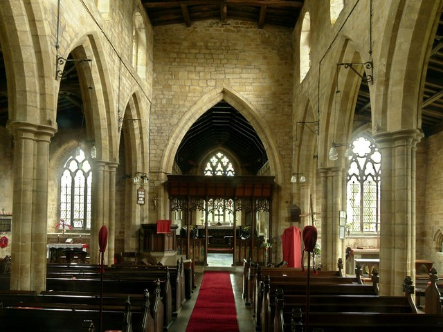 Church of All Saints, Hoby