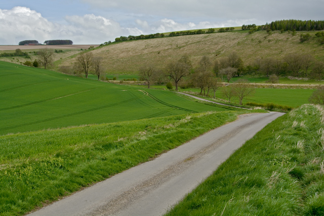 On the lane to Fridaythorpe