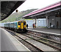 SS6593 : Cardiff Central train in Swansea station by Jaggery