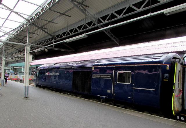 Isambard Kingdom Brunel at Swansea railway station