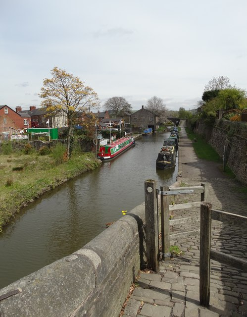 Macclesfield Canal at Marple