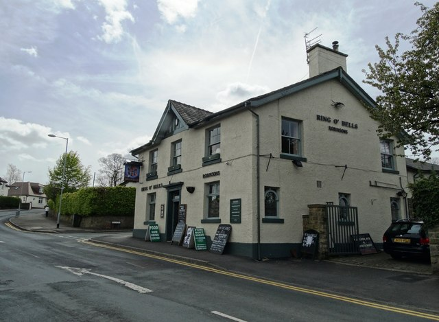 """""""The Ring O Bells"""" in Marple"""