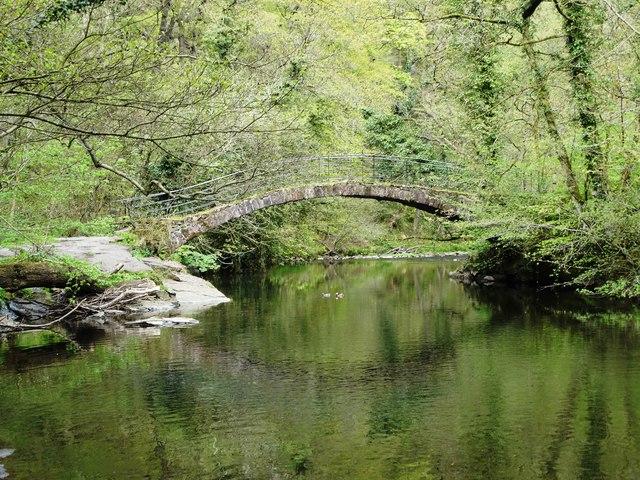 Roman Bridge over the River Goyt