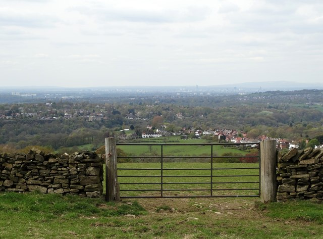 View to Manchester from Whetmorhurst