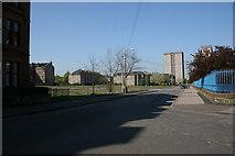 NS5564 : Hinshelwood Drive, Ibrox by Richard Sutcliffe