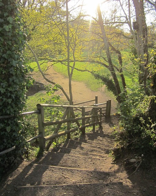 Steps to the Bovey