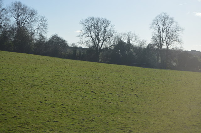Farmland near Arley House Farm
