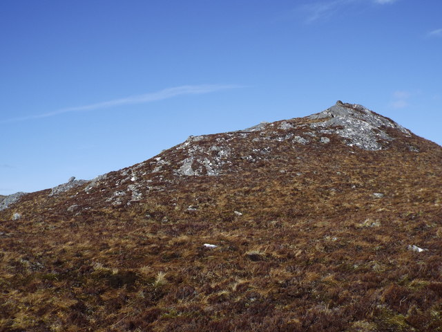 Rock pimple near Carn na Saobhaidhe in Killilan Forest