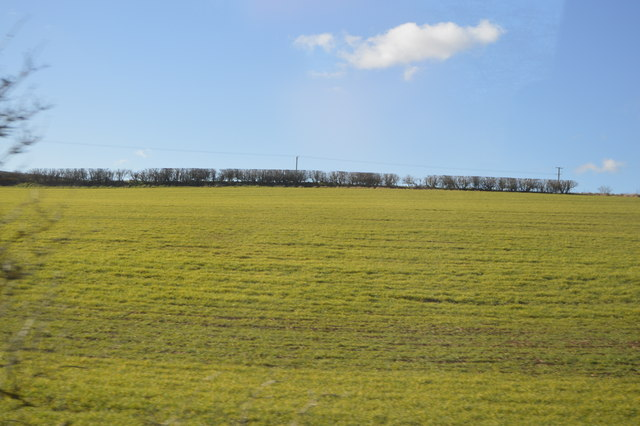 Farmland near Church End