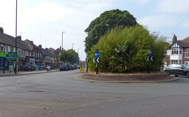 Roundabout on the A4600 Walsgrave Road