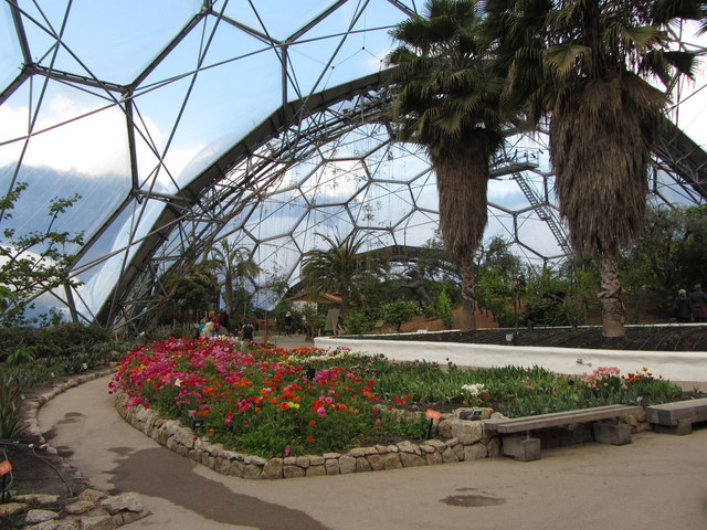 Mediterranean Biome at the Eden Project