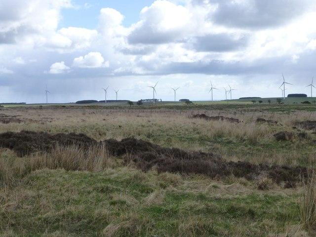 Moorland north of Hagdon