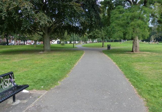 Small park at Gosford Green