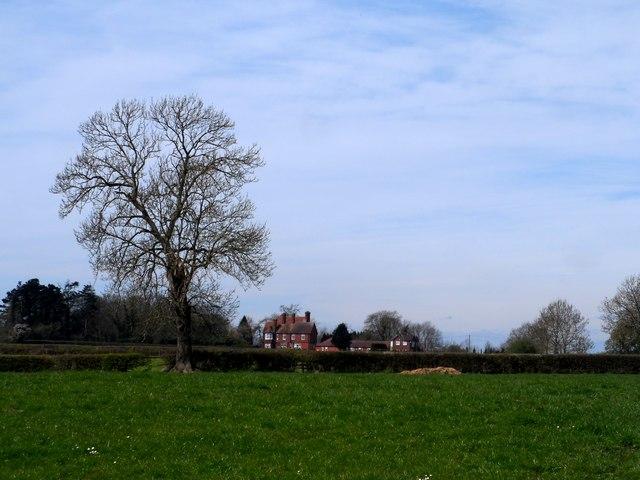 On the edge of Hanbury