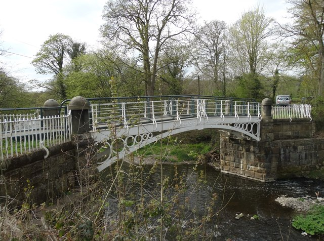 Brabyns Park Iron Bridge