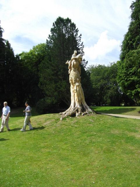 Sculpture, Pavilion Gardens, Buxton