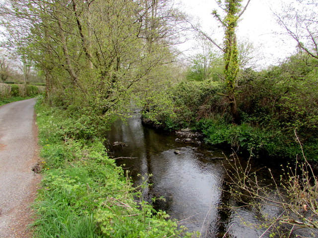 Afon Marlas near Waunfarlais Road, Llandybie