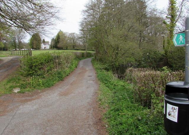 Riverside footpath, Llandybie