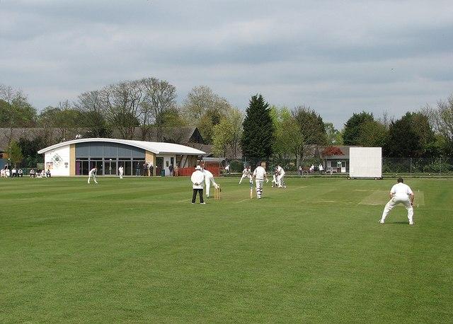 Cricket at Histon