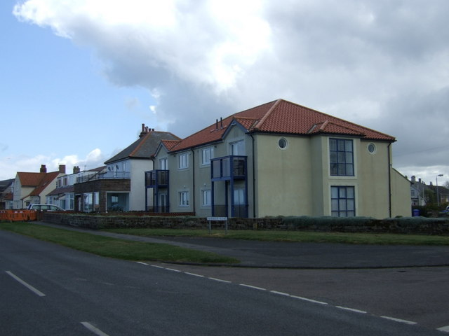 Houses on Harbour Road, Beadnell