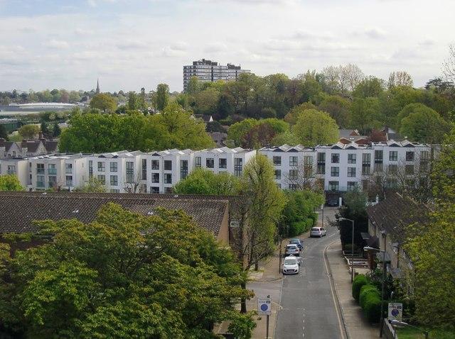 View from Glen Albyn Road