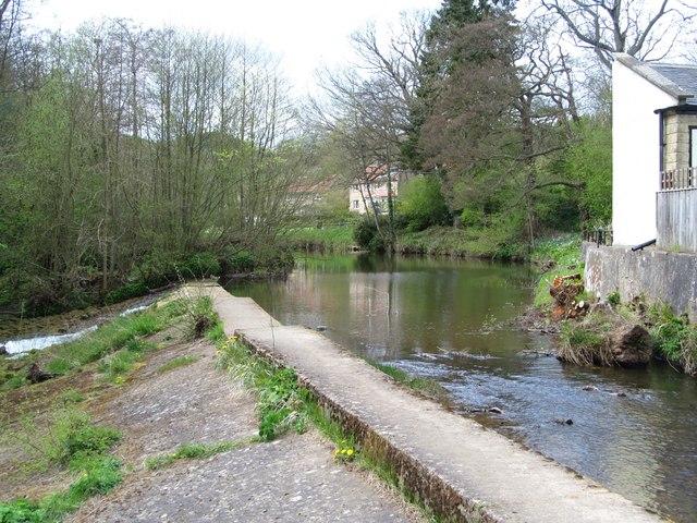 Weir at Egton Bridge