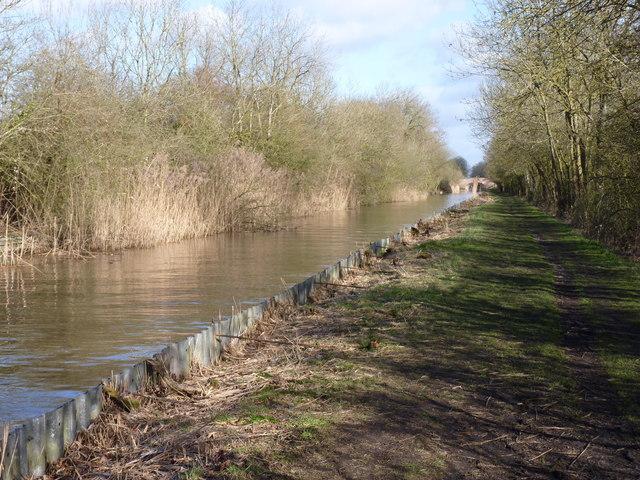 Worcester-Birmingham Canal near Hadzor