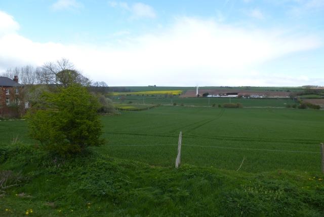 Farmland near Wandale Farm
