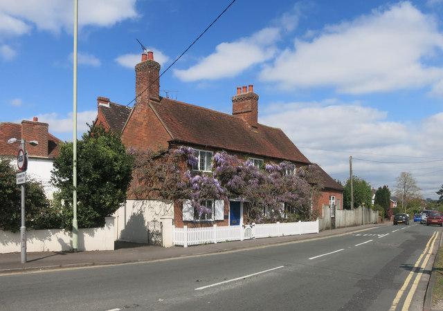 Nice old house, Three Mile Cross