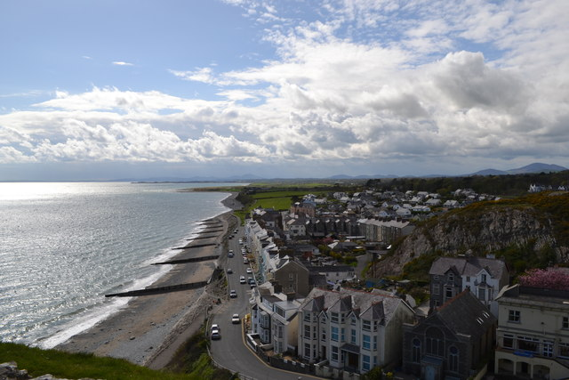 Criccieth Seafront
