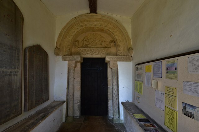 Egleton: St. Edmund's Church: The south doorway