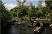 NS5666 : River Kelvin by Richard Sutcliffe