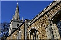SK8707 : Egleton: St. Edmund's Church: The tower by Michael Garlick