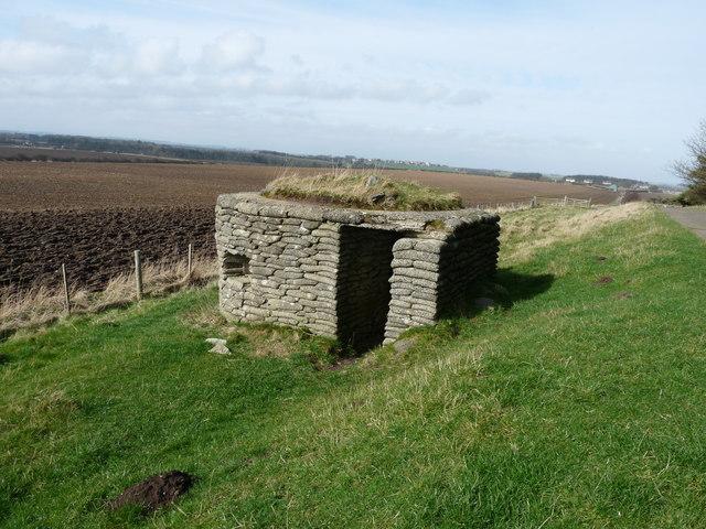 WW2 Pillbox - Near Dunstan Square
