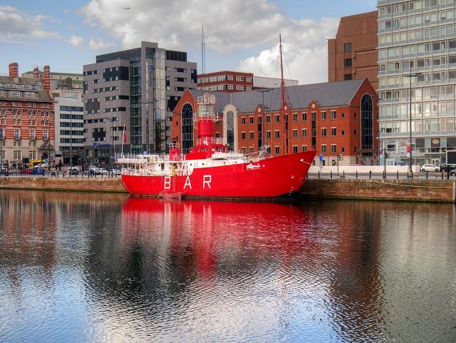 The MerseyPlanet Lightship, Canning Dock